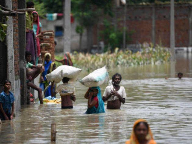 बाढ़ से स्थिति चिंताजनक