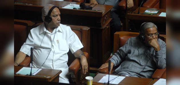 येदियुरप्पा ने कर्नाटक विधानसभा में बहुमत हासिल की