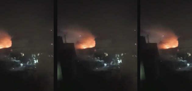 देखें, वो पल जब पाकिस्तानी सेना का विमान बना आग का गोला