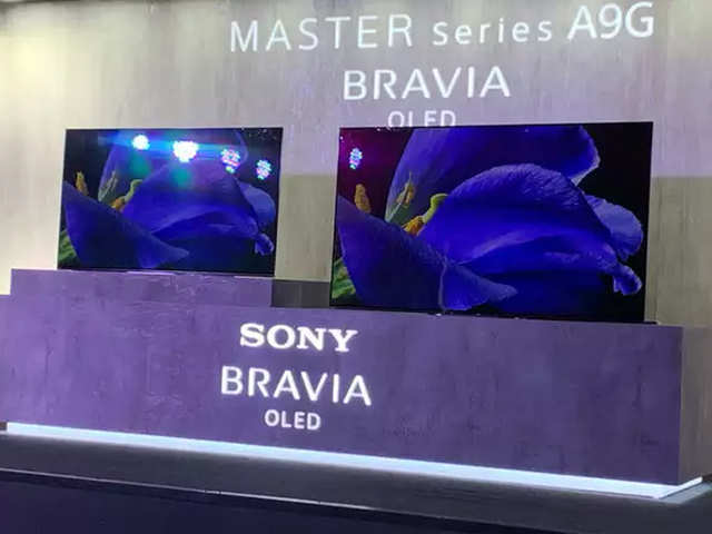 Image result for Sony A9G Bravia 4K OLED Android TV launches in India, starting from ₹ 2,69,900