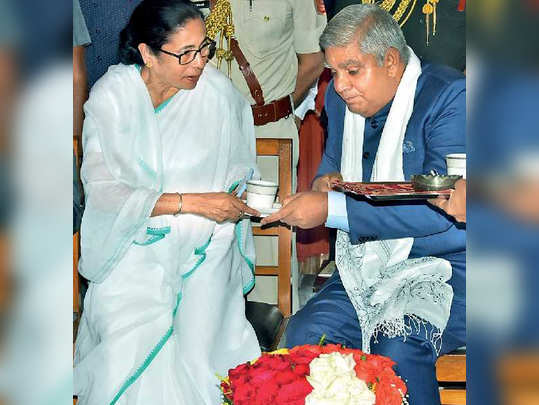 CM Mamata Banerjee meets New Governor of West Bengal