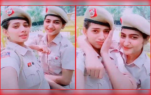 दिल्ली: महिला पुलिसकर्मियों का टिकटॉक विडियो हुआ वायरल