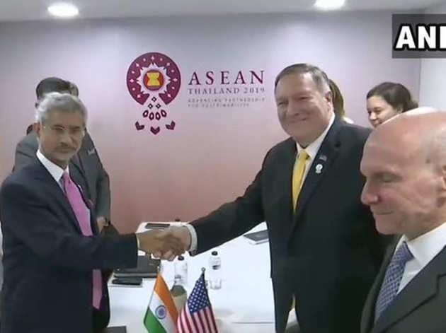 अमेरिकी समकक्ष के साथ विदेश मंत्री जयशंकर