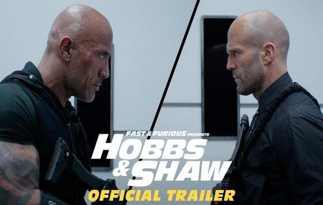 Fast & Furious Presents: Hobbs & Shaw ट्रेलर