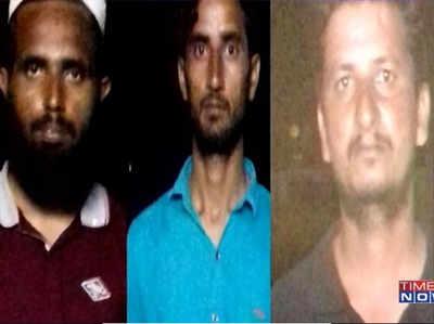 हिसार से गिरफ्तार किए गए तीन संदिग्ध