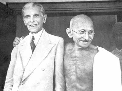 मोहम्मद अली जिन्ना और महात्मा गांधी (फाइल फोटो)