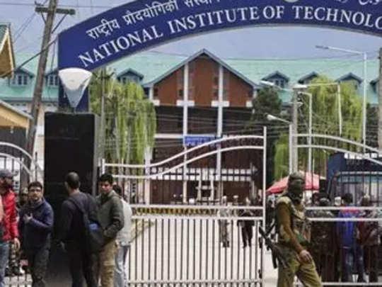 काश्मीर: एनआयटीचे विद्यार्थी ,क्रिकेटपटू घरी रवाना