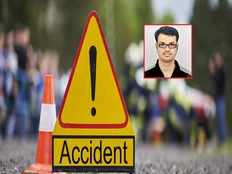 telugu student died in road accident at america