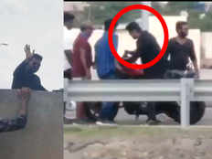actor vijays bigil movie shooting spot video leaked over the social media netizens commended that he should fined for riding bike without helmet
