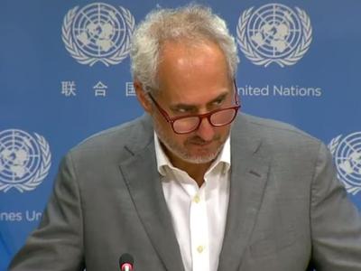 यूएन महासचिव के प्रवक्ता स्टीफन दुजारिक