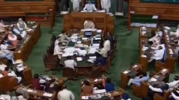 lok sabha passes jammu and kashmir reorganisation bill