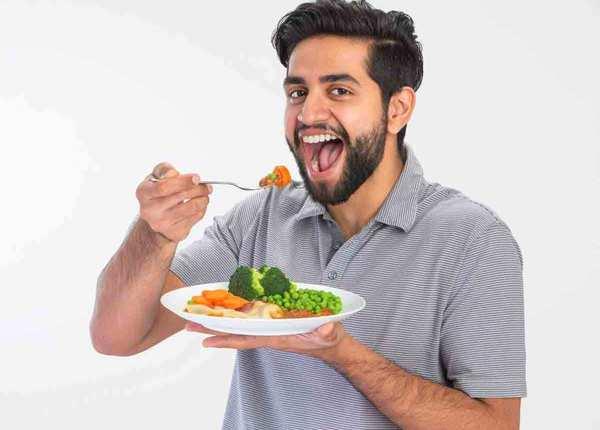 कम खाएं और धीरे धीरे खाएं