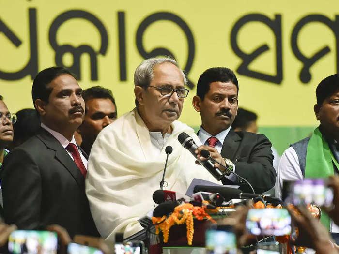 ओडिशा के सीएम नवीन पटनायक