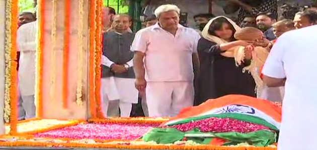 राजकीय सम्मान के साथ किया गया सुषमा स्वराज का अंतिम संस्कार