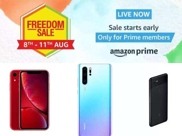 Amazon Freedom Sale 2019: प्रीमियम से मिडरेंज तक, इन स्मार्टफोन्स मिल रहे हैं बेस्ट ऑफर