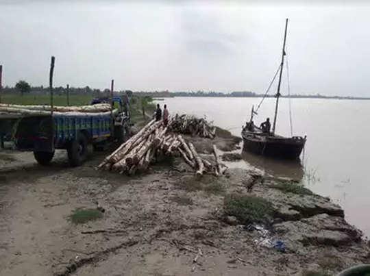 फाइल फोटो: घाघरा नदी