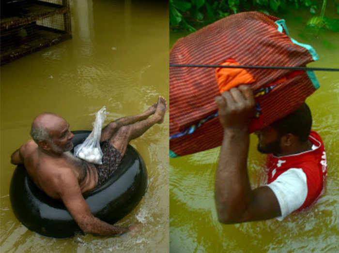 चार राज्यों में बाढ़ से हाल बेहाल