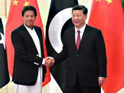 चीन के राष्ट्रपति शी चिनफिंग के साथ इमरान खान (फाइल फोटो)