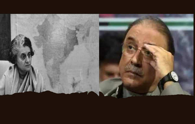 Indira Gandhi negotiated land deal with Pakistan: Sensational claim by former Pak President Asif Ali Zardari