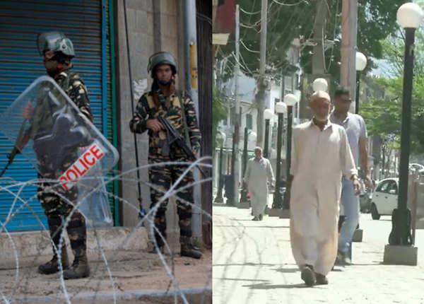 जम्मू-कश्मीर: टूटा 370 का सन्नाटा, जश्न को तैयार 'जिंदगी'