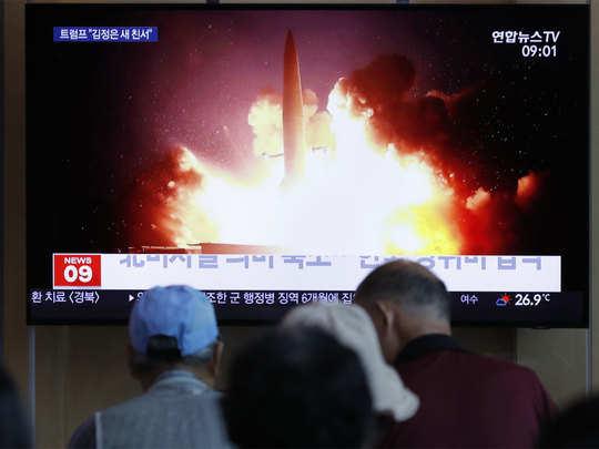 मिसाइल परीक्षण की खबर मीडिया में भी