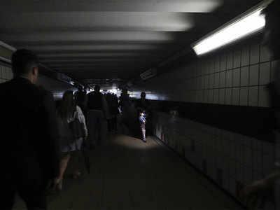 अंधेरे में डूब गया लंदन शहर