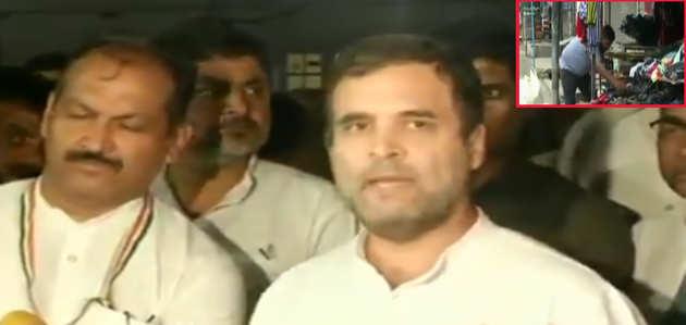 जम्मू-कश्मीर में लोग मर रहे हैं, प्रधानमंत्री देश को बताएं वहां क्या हो रहा है: राहुल गांधी