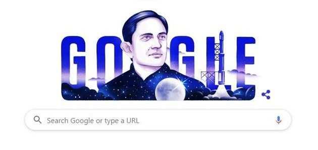 Google Doodle: महान वैज्ञानिक विक्रम साराभाई को गूगल डूडल का सलाम