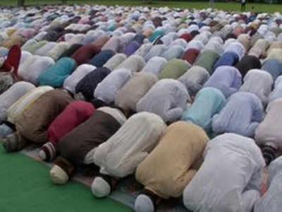 बकरीद पर जम्मू के मस्जिद में अदा की गई नमाज़