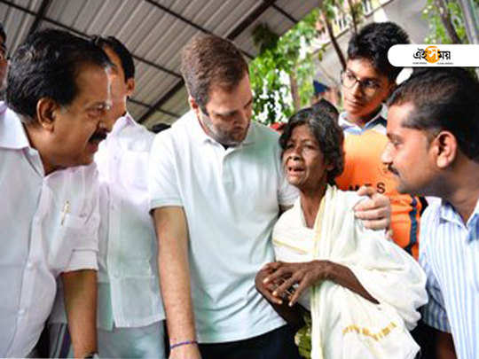 Kerala Floods: 76 Dead, Malappuram, Wayanad and Kozhikode Districts Worst Hit, Rahul Gandhi distributes relief