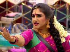 eliminated housemate vanitha vijayakumar enters into bigg boss tamil again contestants worry