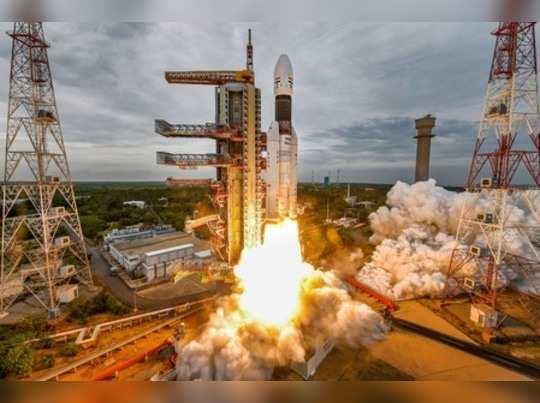 Sriharikota: Indias second Moon mission Chandrayaan-2 lifts off onboard GSLV Mk...
