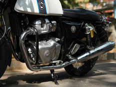 bs6 royal enfield continental gt 650 model spied