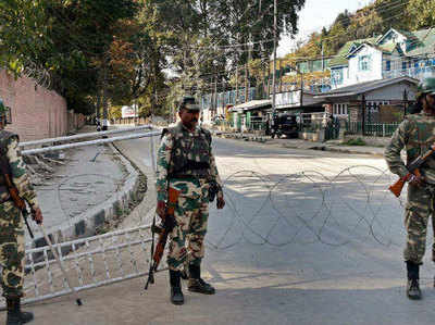 Jammu and Kashmir: CRPF responds to rumors of differences in security forces