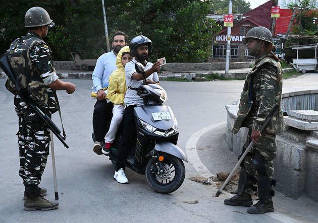 कश्मीर में चप्पे-चप्पे पर सुरक्षा
