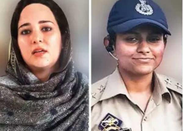 कश्मीर में दो महिला अधिकारियों की चर्चा
