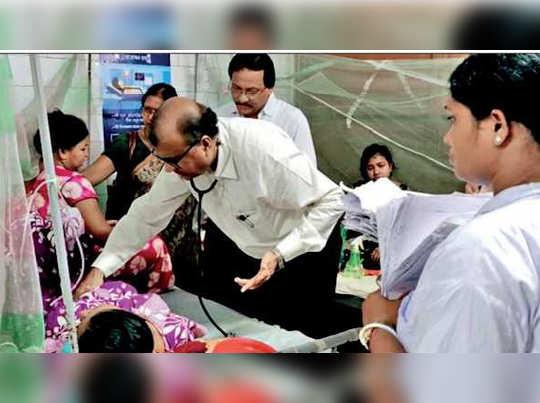 Dengue scare at North 24 parganas