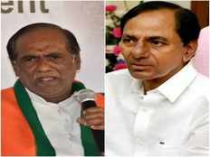 telangana bjp chief laxman satires on cm kcr over his comments on rayalaseem