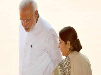 श्रद्धांजलि सभा में पीएम नरेंद्र मोदी ने गिनाए सुषमा स्वराज के गुण