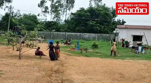 girl students cut their hair over water problem in medak school hostel