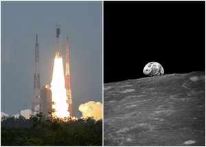 chandrayaan 2 journey to moon to start successfully leaves earth orbit