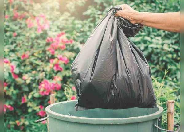 प्लास्टिक कचरा बैग