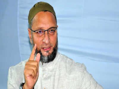 ओवैसी ने फिर साधा केंद्र सरकार पर तीखा वार, 'इन्हें कश्मीरियों से नहीं, उनकी जमीन से प्यार'