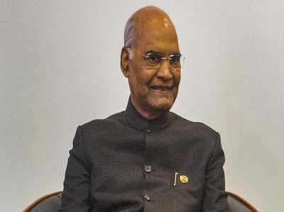 राष्ट्रपति रामनाथ कोविंद बोले- अनुच्छेद 370 हटने से J&K और लद्दाख के लोगों को फायदा