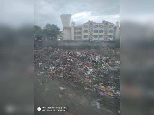 स्वच्छ भारतला हरताळ