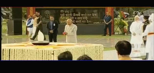 पीएम मोदी ने दी  पूर्व प्रधानमंत्री अटल बिहारी वाजपायी को श्रद्धांजलि