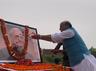 रक्षा मंत्री राजनाथ सिंह ने पोखरण से अटल बिहारी वाजपेयी को दी श्रद्धांजलि
