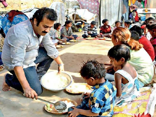chandra sekhar kundu non as a food man