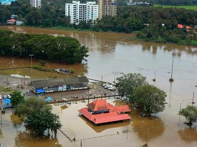 केरल में बाढ़ के हालात (फाइल फोटो)