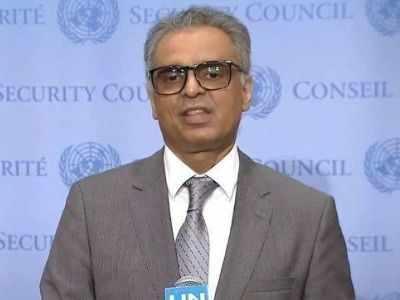 यूएन में भारत के स्थायी प्रतिनिधि सयैद अकबरुद्दीन।